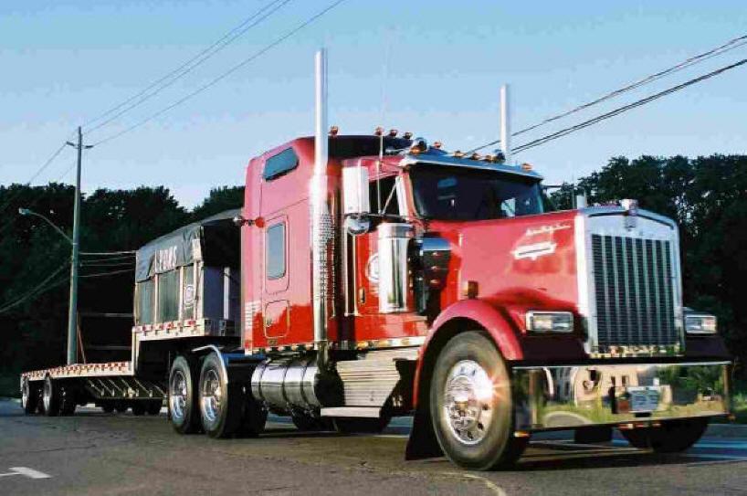 Kenworth Stock Or Custom Exhaust Components