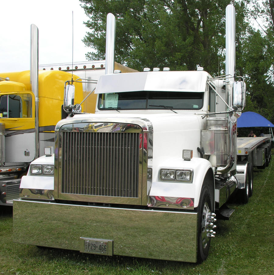 Freightliner Stock Or Custom Exhaust Components Truck Engine Diagram Classic Model Layout