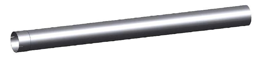 Kenworth Aerocab exhaust pipe