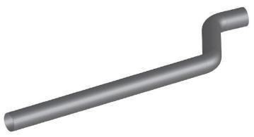 Volvo VN & VNL Exhaust Pipe