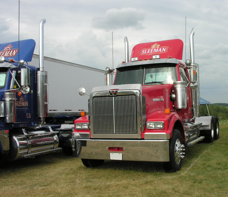 Western Star Truck Stock Or Custom Exhaust Components